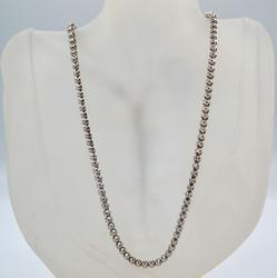 7cts Diamond Tennis Long 14kt Necklace