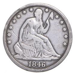 1846-O Seated Liberty Half Dollar - Tall Date