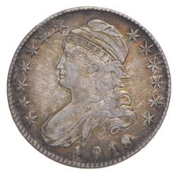 1818 Capped Bust Half Dollar - 8 Over 7 Small 8
