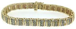 Gorgeous RBC & Bagg Diamond Bracelet