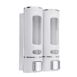 2Pcs/Set 400ML Liquid Soap Dispenser Wall Mounted