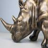 Rhino Safari Trophy Cold Cast Statue