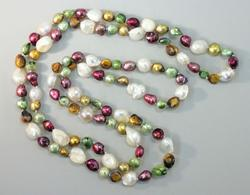 Boho Pearl Necklace