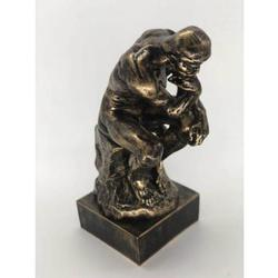 Thinker Cold Cast Statue
