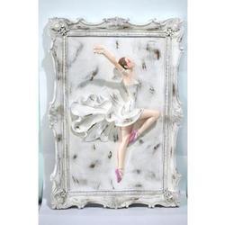 3D Wall Mount Little Ballerina Cold Cast Sculpture