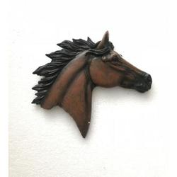 Decorative Horse Head Wall Mount Hanger Resin