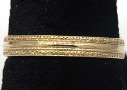 Gorgeous 14kt Yellow Gold Band