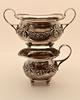 Regency Style 4 Piece Sterling Tea Set
