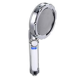 Pressure Boost Shower Head 360 Degrees Rotating Spa