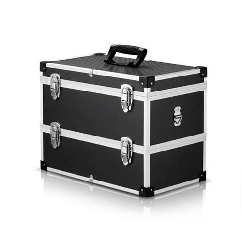 2 Layer Portable Multi-Purpose Tool Box Hard Carry Case