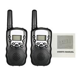 2Pcs Walkie Talkie UHF462-467MHz 8 Channel 2-Way Radio