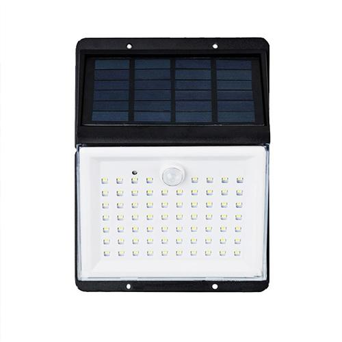 88 LED Solar Power Sensor Light Voice Remote Control
