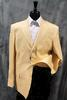 Clearance 3- button Comfort Fit Linen Jacket, Size 42L Only