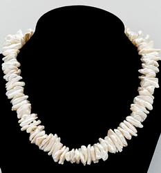 Freshwater Pearl Necklace in Sterling Silver