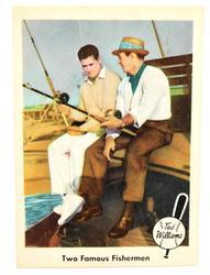 Rare 1959 Ted Williams & Sam Snead Baseball Card