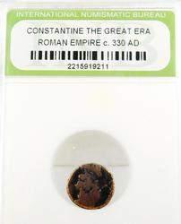 Constantine The Great Roman Empire Ancient Coin