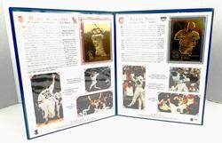 1998 Mark McGwire & Sammy Sosa Gold Foil Baseball Set
