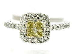 Pretty 1/2ctw Round Brilliant Cut Diamond Ring