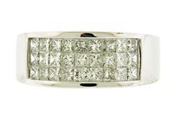 Gorgeous Invisible Set Diamond Ring