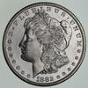 1882-S Morgan Silver Dollar - Circulated