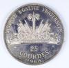 1968 Haiti 25 Gourdes Silver Round - Better