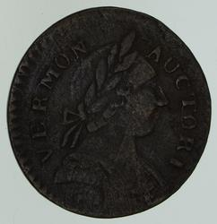 Post-Colonial Vermont Copper Coin - Circulated