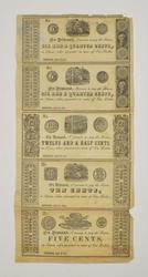 Frederick, MD April 20, 1841 2 Sheets of Currency