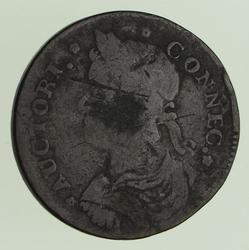 1787 Connecticut Cent - Circulated