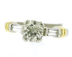 Gorgeous 18kt/ Platinum Engagement Ring