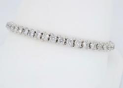 5.00CTW Diamond Tennis Bracelet