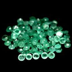 Large 7.42ct 95 piece Zambian Emerald parcel