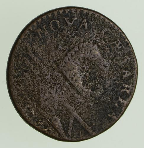 1787 New Jersey Copper Coin - Circulated