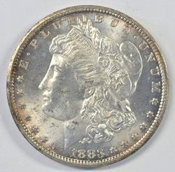 Choice BU 1883-CC Morgan Silver Dollar. Nice