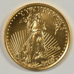 Superb Gem BU 1998 $5 American Gold Eagle
