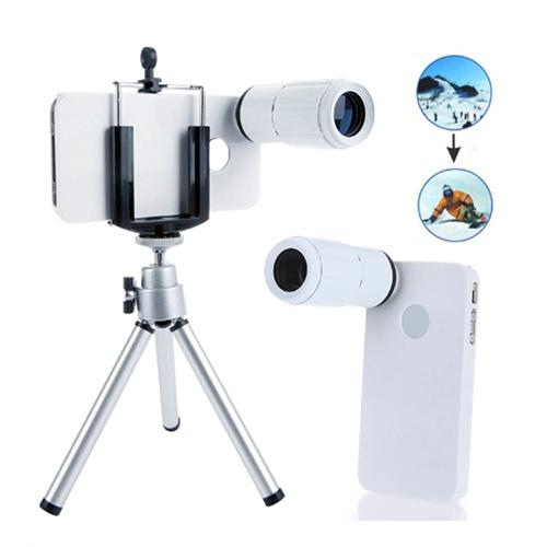 8X Magnification Mobile Phone Telescope Magnifier Lens