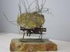 Love in Rain Brass Sculpture