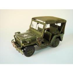 1940 Green Willy Overland Jeep Collectible Model USA ARMY