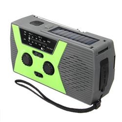 Weather FM Radio Emergency Solar Hand Crank
