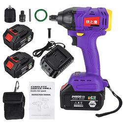 2 in 1 Electric Cordless Drill Brushless Impact Wrench