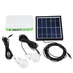 Solar Powered System Generator Panel Storage Charger