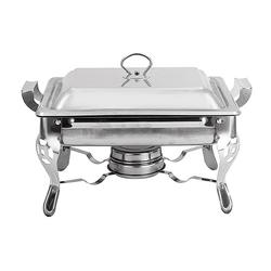 6L Thick Square Stainless Steel Buffet Stove