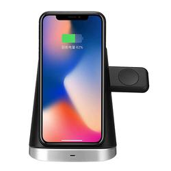 3in1 10W Wireless Charger Phone Holder Earphone Charger
