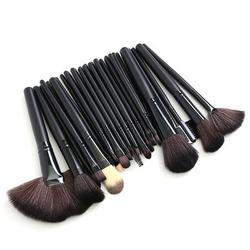 32 High Quality Brush Set Pink Eyeshadow Eyebrow Blush