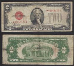 $2 1928-C Star Legal Tender in Demand