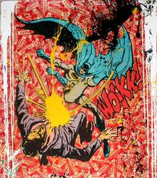MR. BRAINWASH BAT-WOCKK (UNIQUE HAND EMBELLISHED)