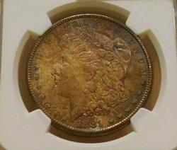 1881-S Morgan Dollar  NGC  MS-63