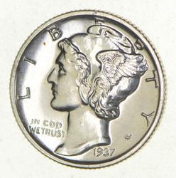 1937 Mercury DIme