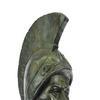 Roman Warrior Bust Bronze Sculpture Statue Figure