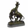 Gardet Panther Attacking Giselle Bronze Sculpture