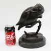 Abstract Modern Art Owl Bronze Sculpture